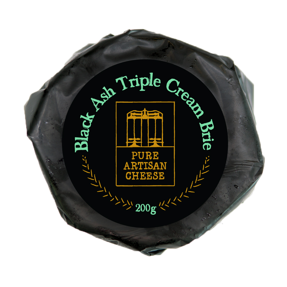 Pure-Artisan-Cheese-Black-Ash-Triple-Cream-Brie