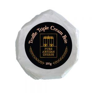 Pure Artisan Cheese Truffle Triple Cream Brie