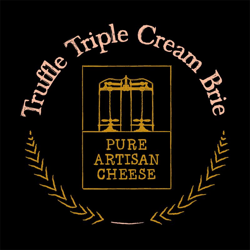 Truffle-Triple-Cream-Brie